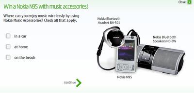 Concurso de Nokia n95 y accesorios