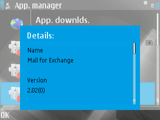 Mail for Exchange 2.02