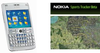 Nokia Sport Tracker para elE61