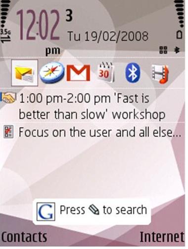 Google para S60