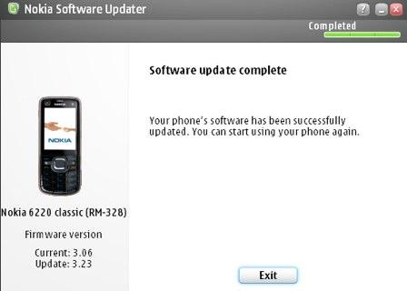 Nokia 6020 clasic 3.23