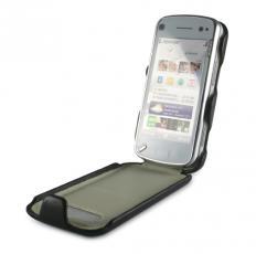 Funda de aluminio y piel para Nokia N97