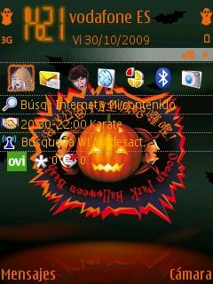 OP Halloween Bash! en un Nokia N95 8GB