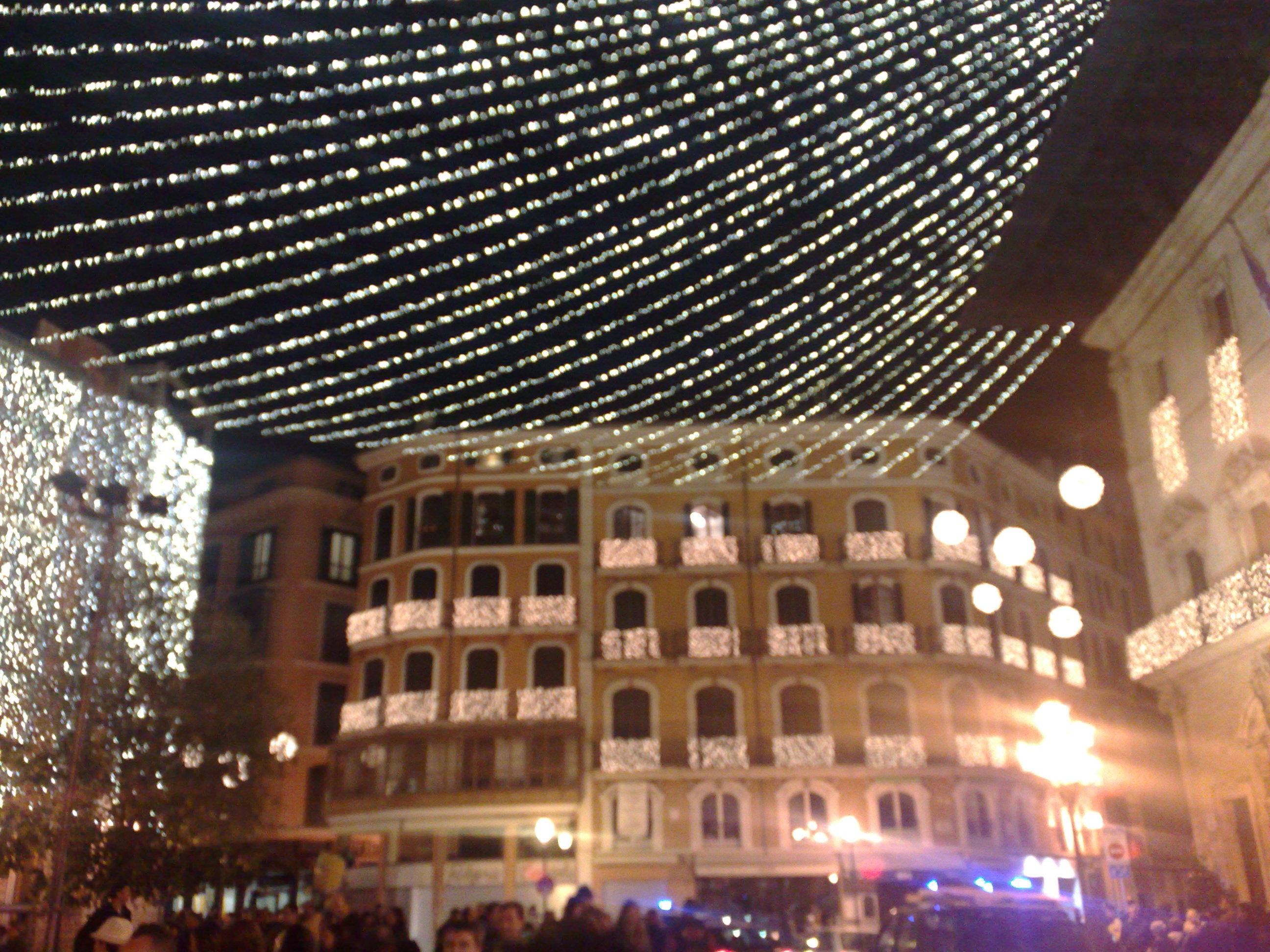 palma de mallorca con luces de navidad el blog de aiglesias