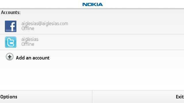 Nokia Menssagin