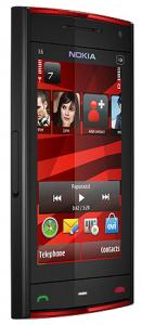 Nokia-X6-Red