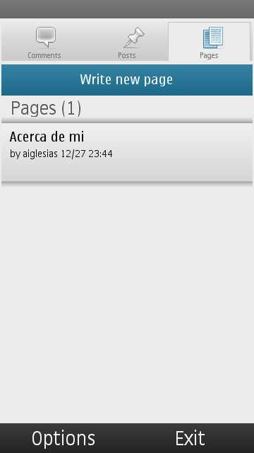 Wordpress para Nokia 2