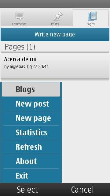 Wordpress para Nokia 3