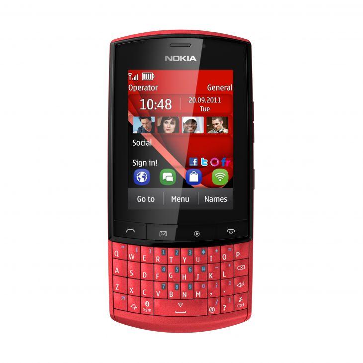 Asha: una nueva familia de móviles de Nokia