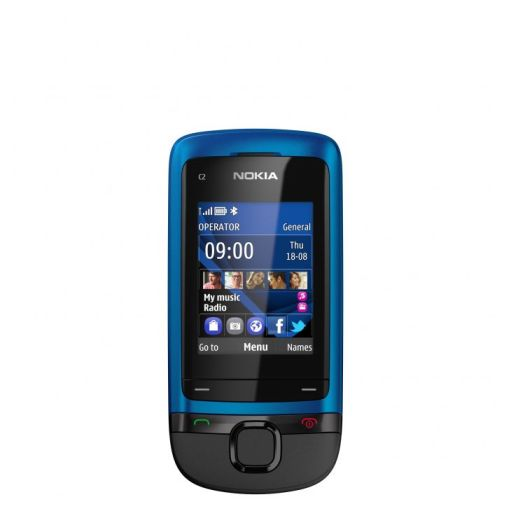 nokia-c2-05_peacock-blue_front